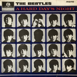 Beatles (The) - A Hard Day's Night (LP) (G/G-)